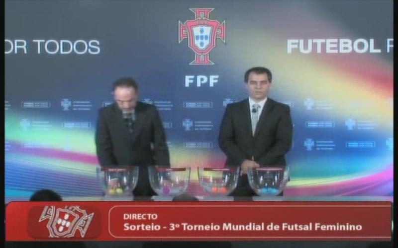 FIFA, III WORLD WOMEN'S FUTSAL, украина, DRAW, Mundial de Futsal Feminino, женский футзал, Futsal feminino, мини-футбол, чемпионат мира, Portugal